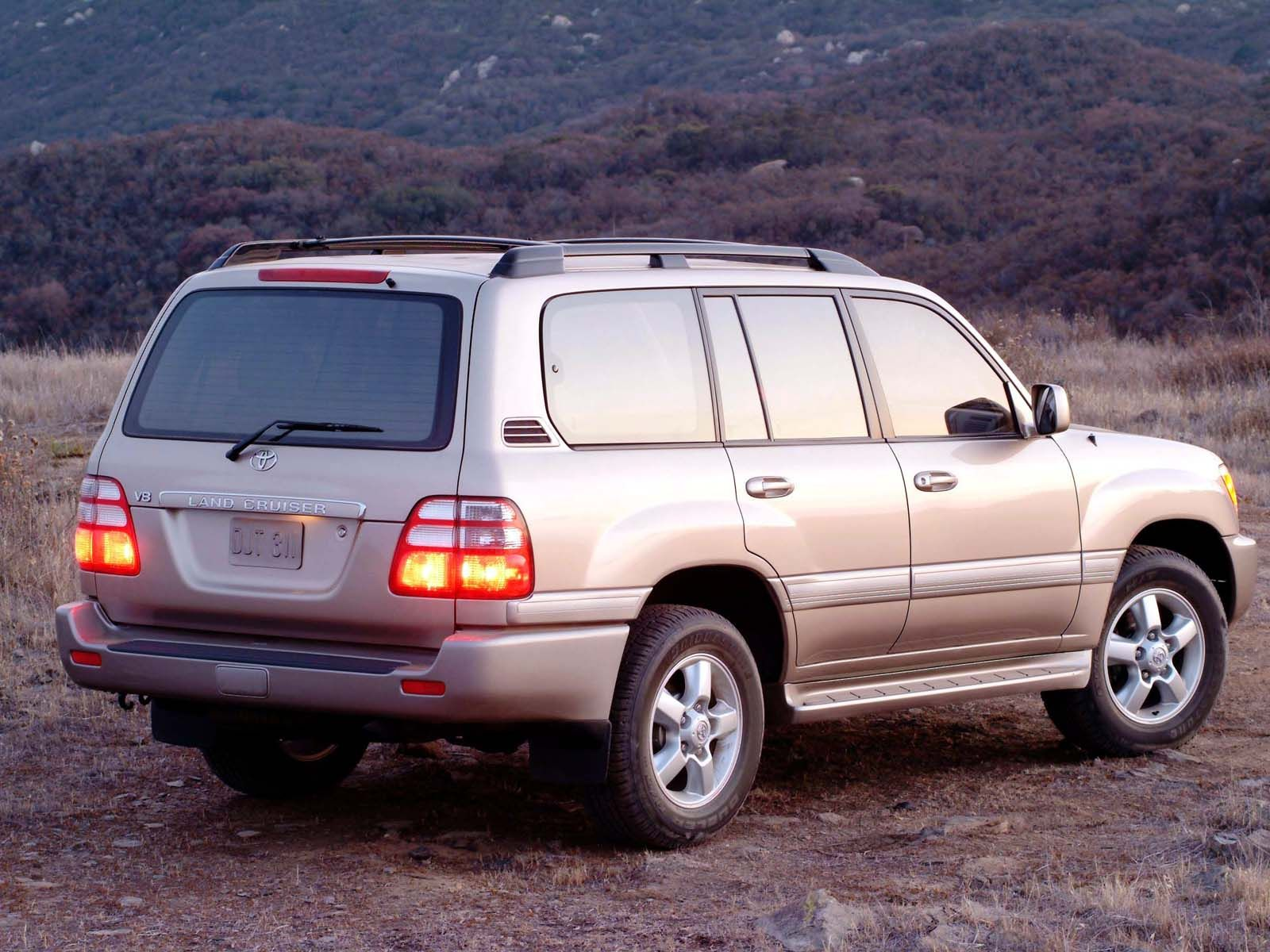 New toyota land cruiser 100 pictures