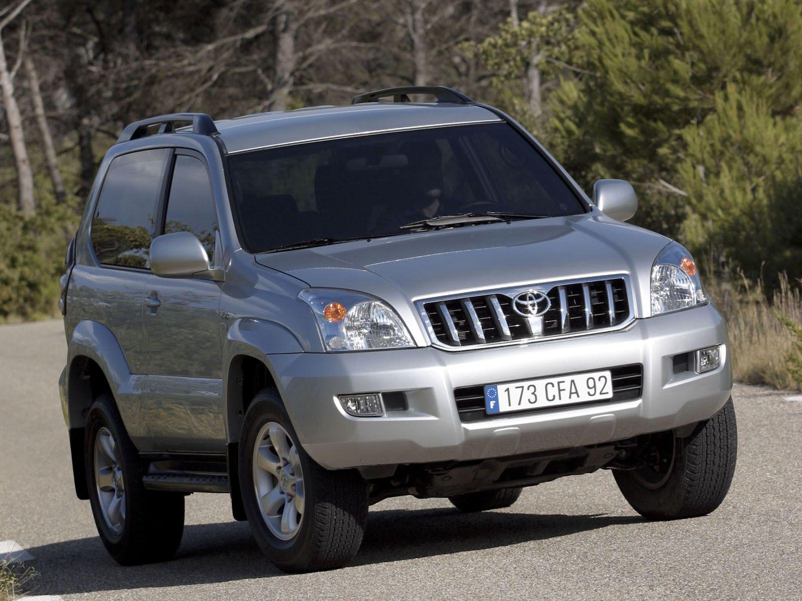 Toyota Land Cruiser Prado 120 photos - PhotoGallery with ...