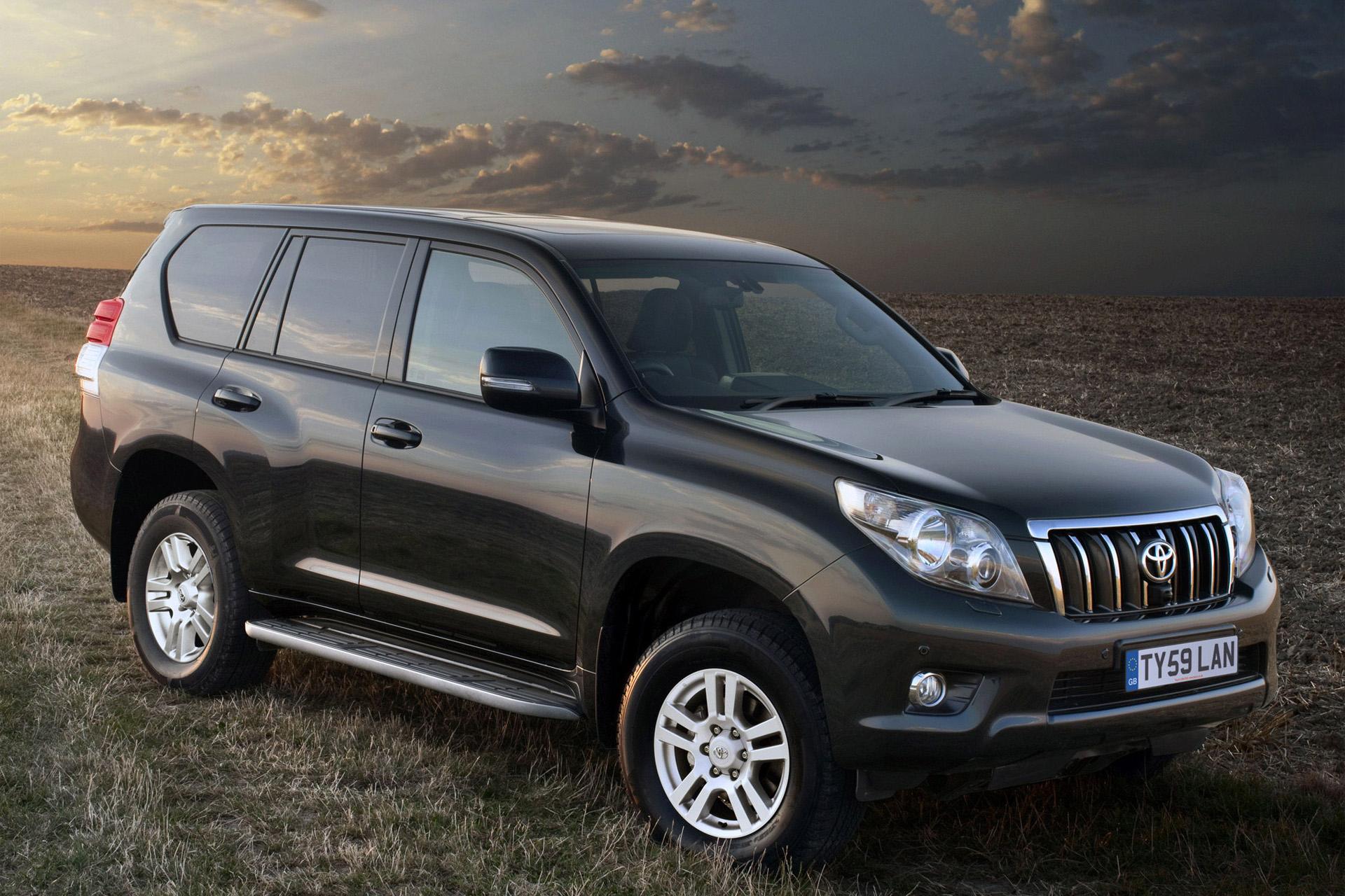 Toyota Land Cruiser Prado с пробегом купить в Беларуси ...