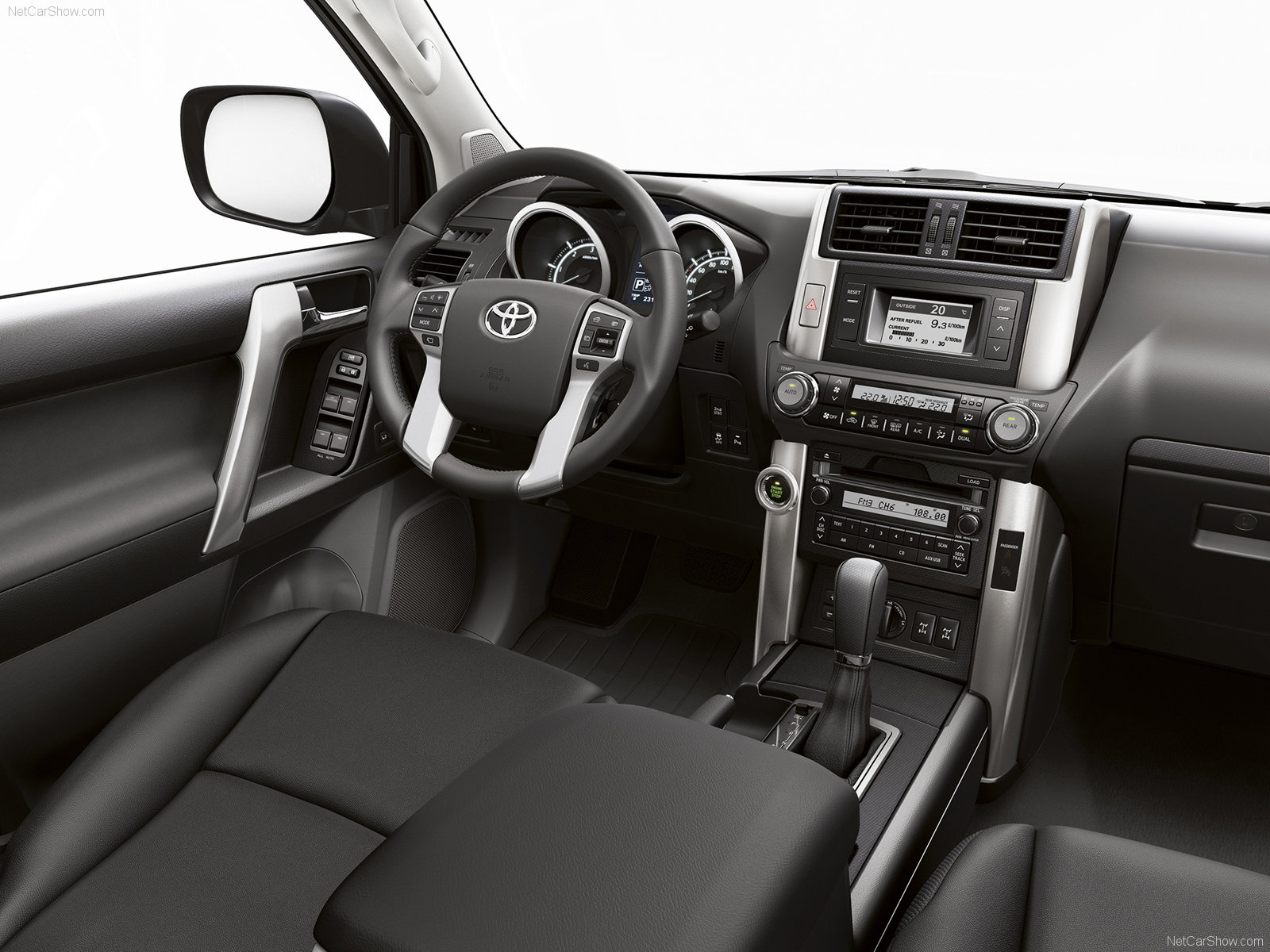 Замена салонного фильтра Toyota Land Cruiser Prado 120 ...