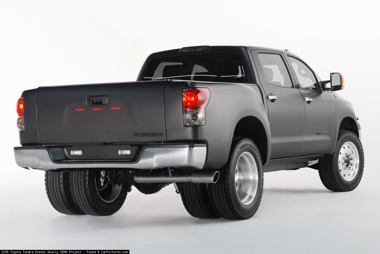 New toyota tundra diesel dually pictures