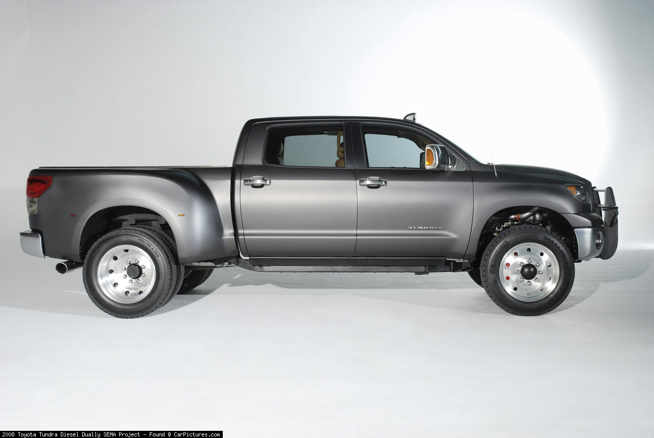 toyota tundra diesel dually photos photogallery with 6 pics. Black Bedroom Furniture Sets. Home Design Ideas