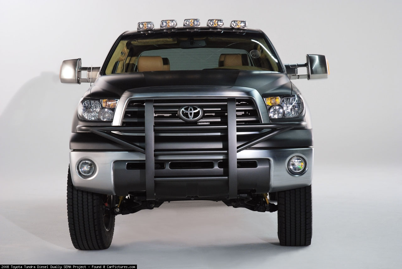 Toyota Tundra Diesel Dually Truck