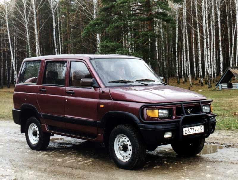 Внедорожник УАЗ-3162, предназнач…