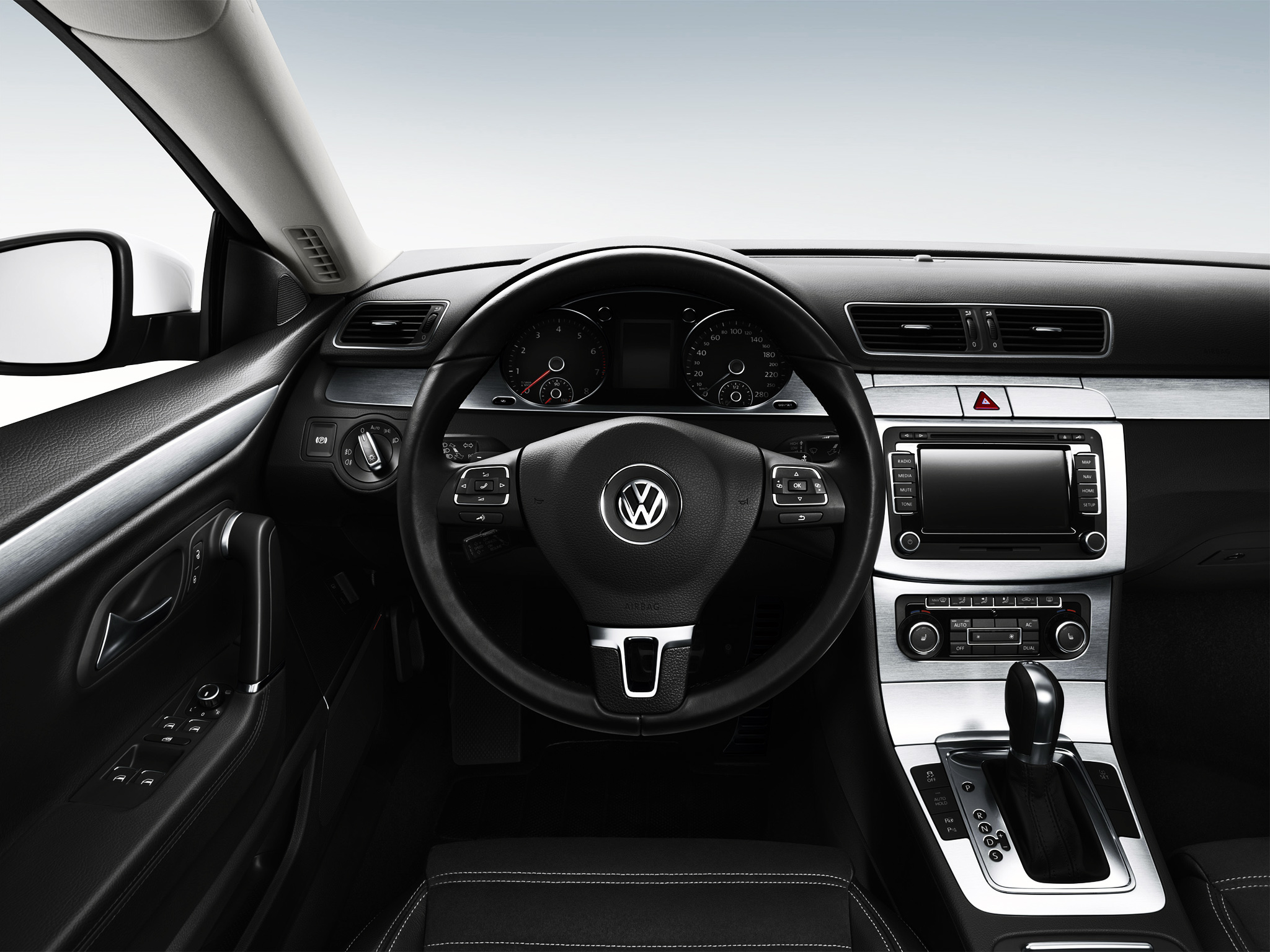 and rear review volkswagen cc img dynaudio shot infotainment