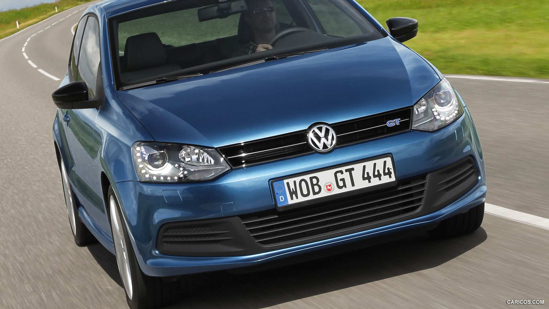 volkswagen polo blue gt photos photogallery with 41 pics. Black Bedroom Furniture Sets. Home Design Ideas