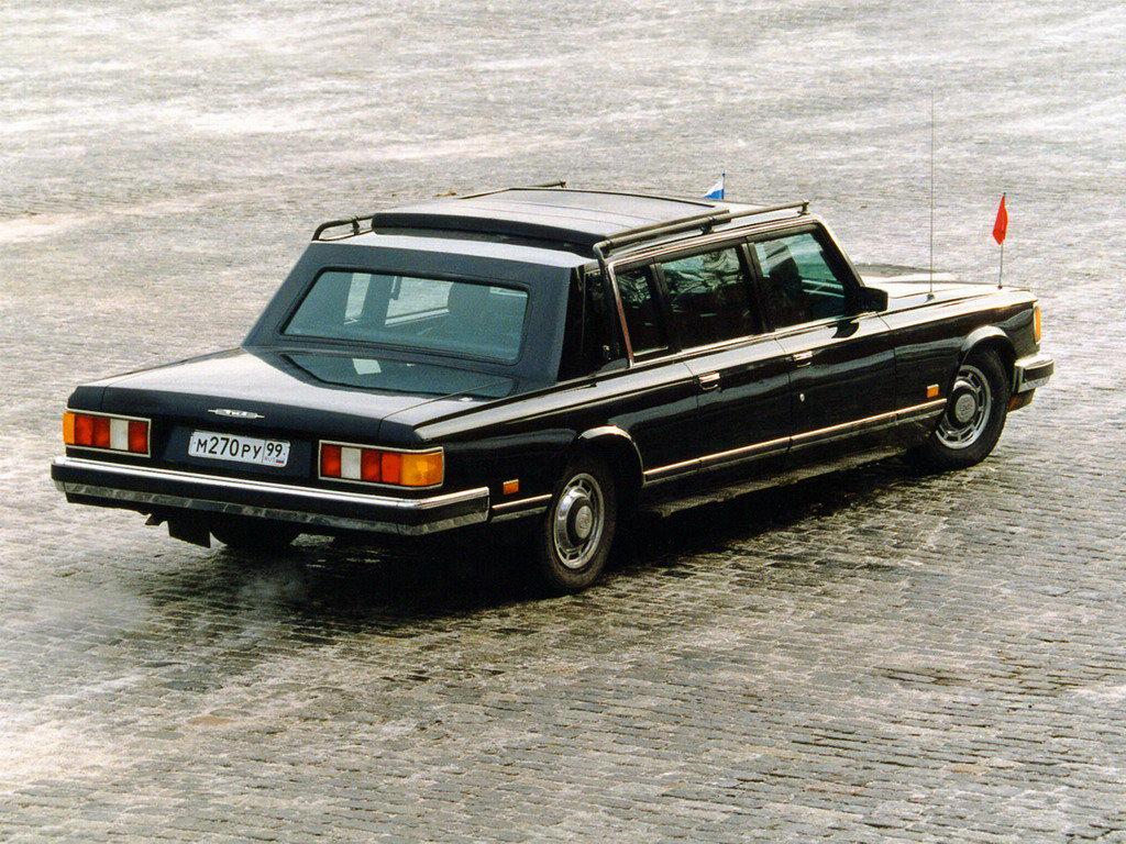 Old Timer Agency - ZIL 41047 soviet limousine