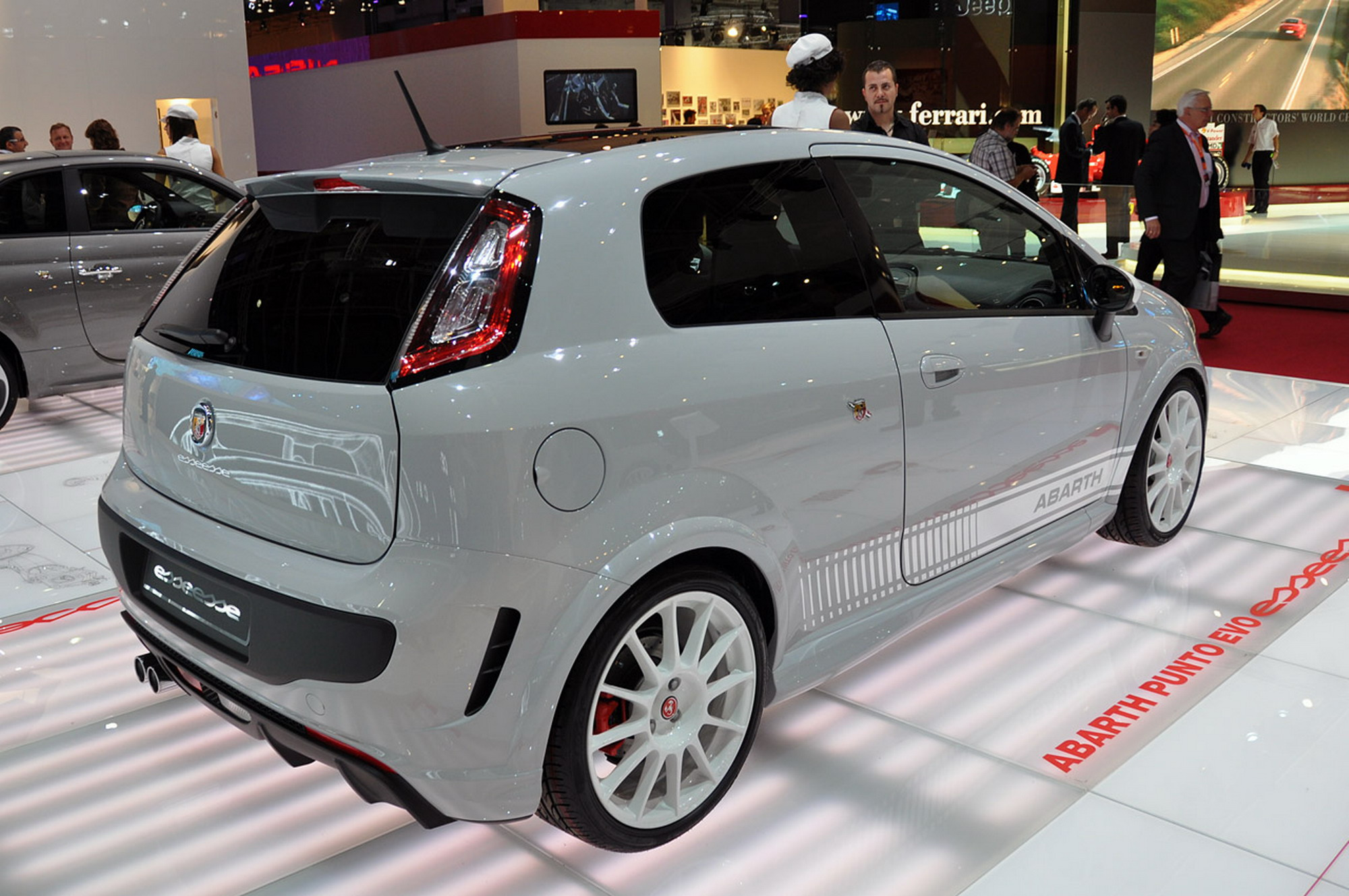 Abarth Punto Evo Esseesse photo 105442