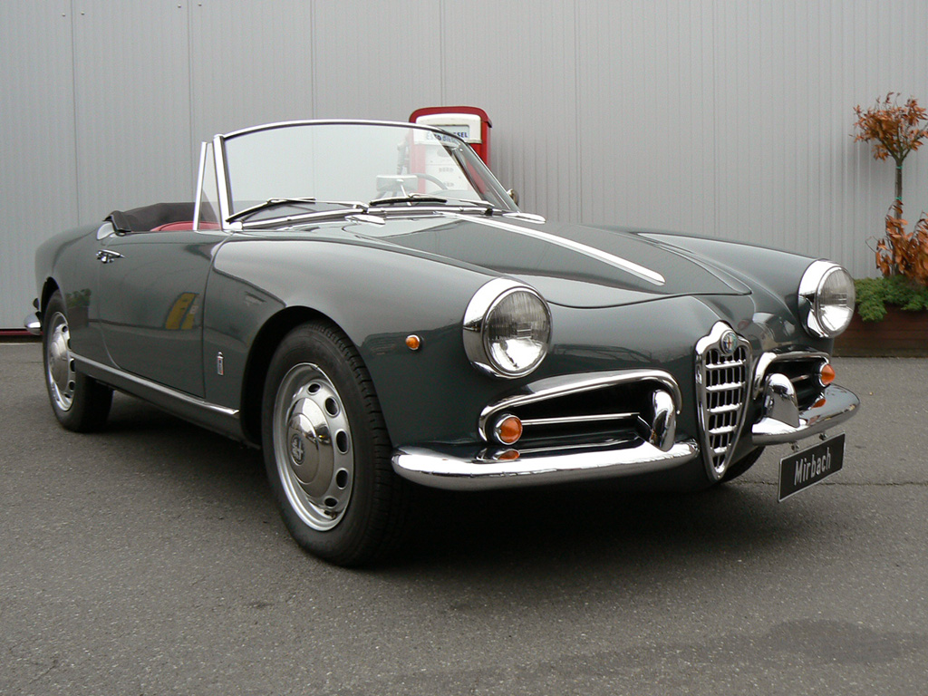 Alfa Romeo Giulietta Spider  photo 41249