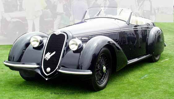 Alfa Romeo Touring Spyder photo 6121