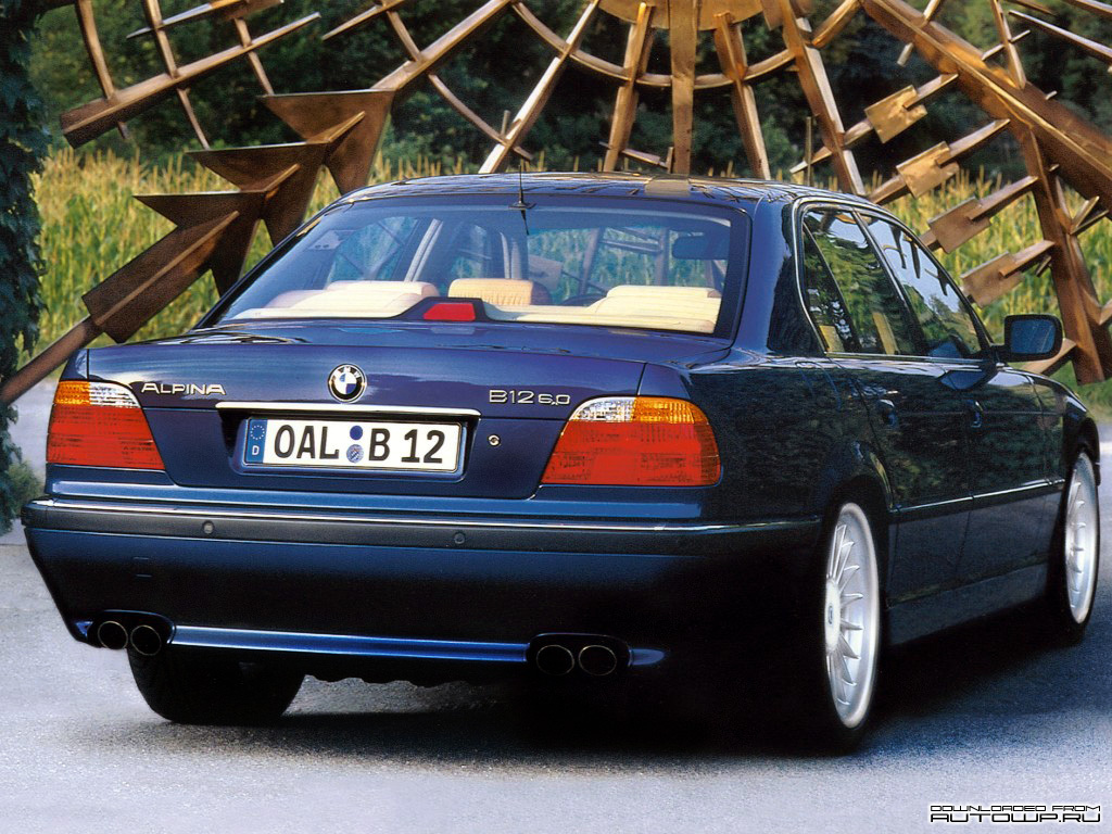 Alpina B12 6 0 E38 Picture 62519 Alpina Photo Gallery Carsbase Com