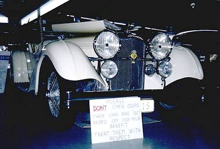 Alvis SC Speed 20 photo 19396