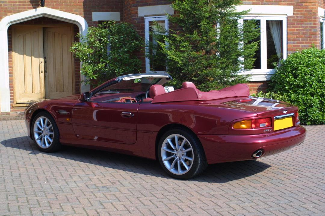 Aston Martin DB7 Convertible photo 13160