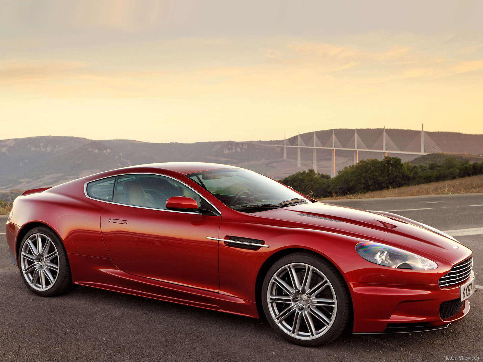 Aston Martin DBS Infa Red picture