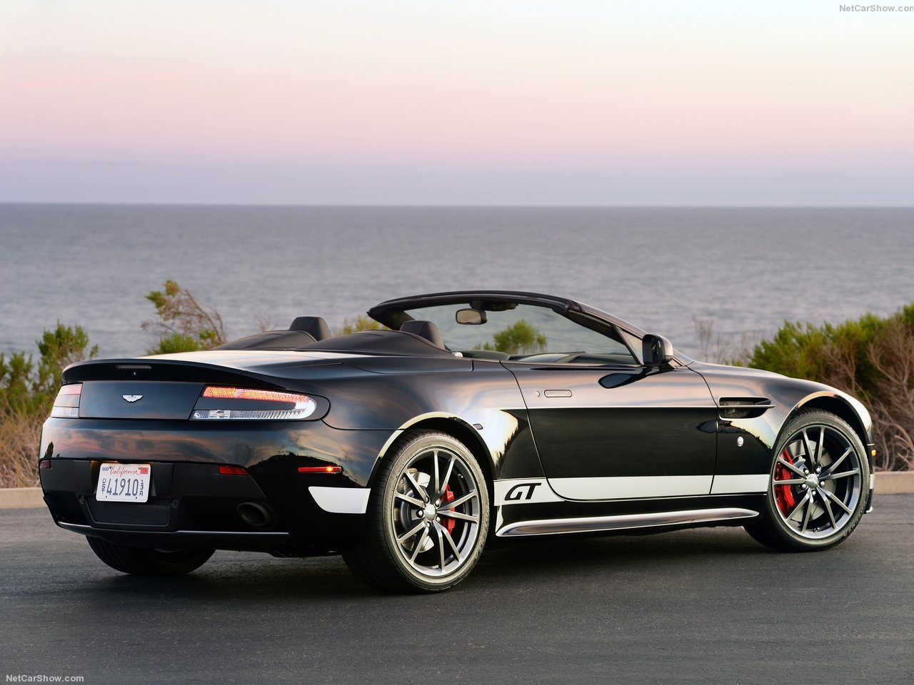 Aston Martin V8 Vantage GT Roadster photo 138295