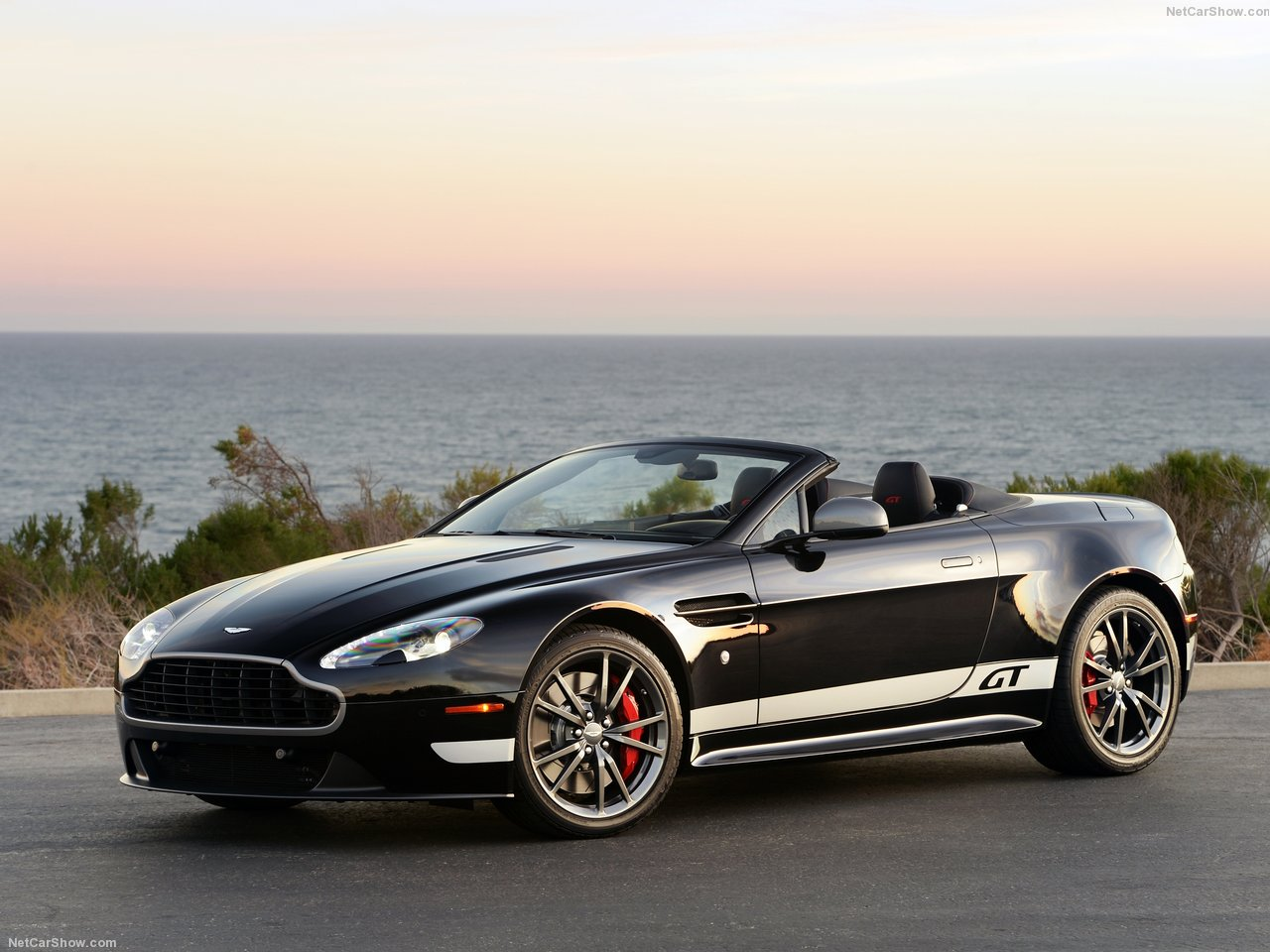 Aston Martin V8 Vantage GT Roadster photo 138300