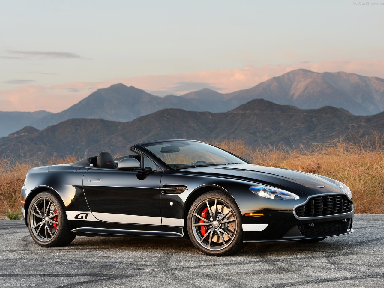 Aston Martin V8 Vantage GT Roadster photo 138302