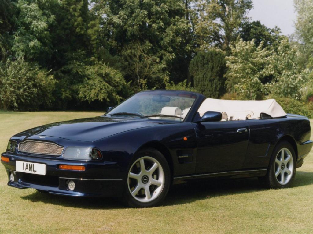 Aston Martin V8 Vantage Volante photo 13140