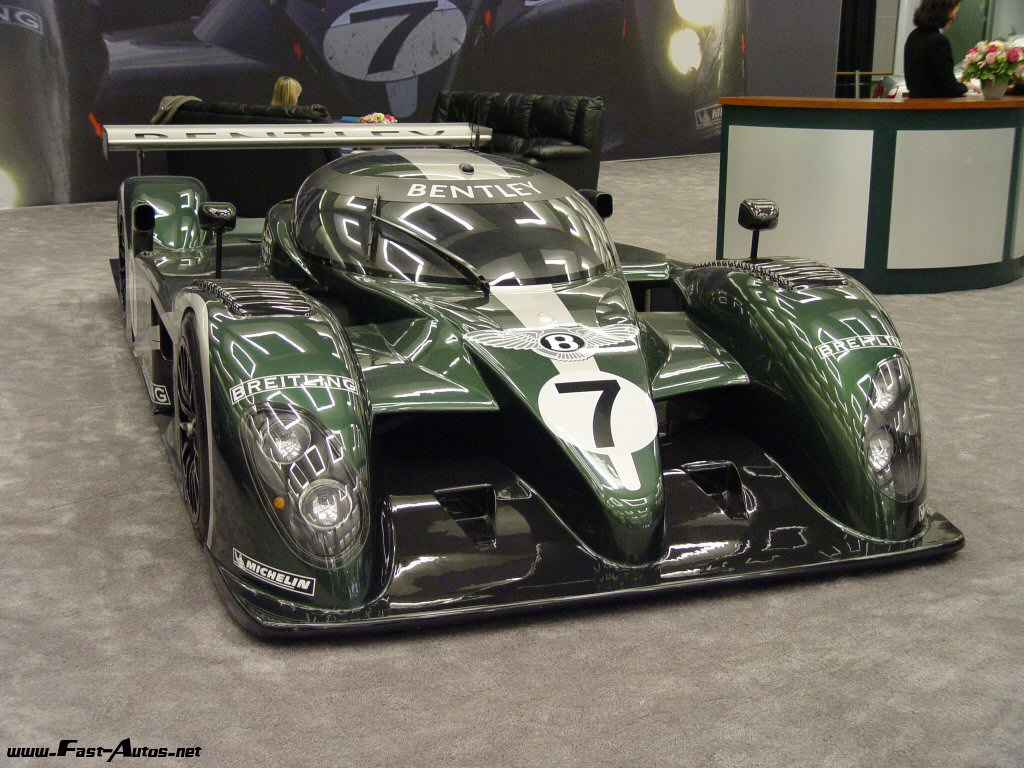 Bentley Speed 8 photo 16788