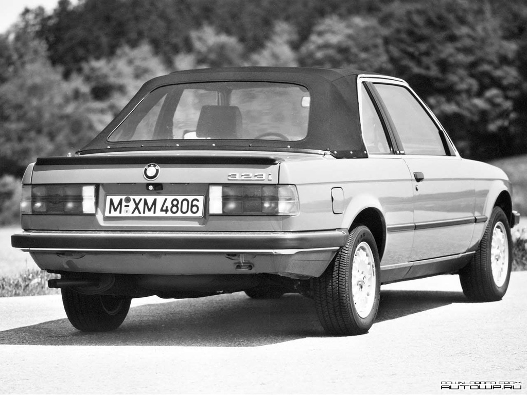 BMW 3-series E30 Cabrio photo 58784