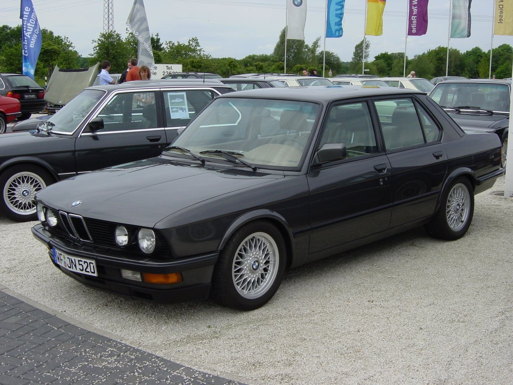 BMW 5-series E28 photo 36425