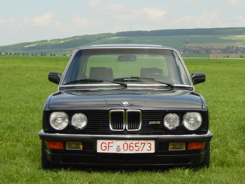 BMW 5-series E28 photo 36431