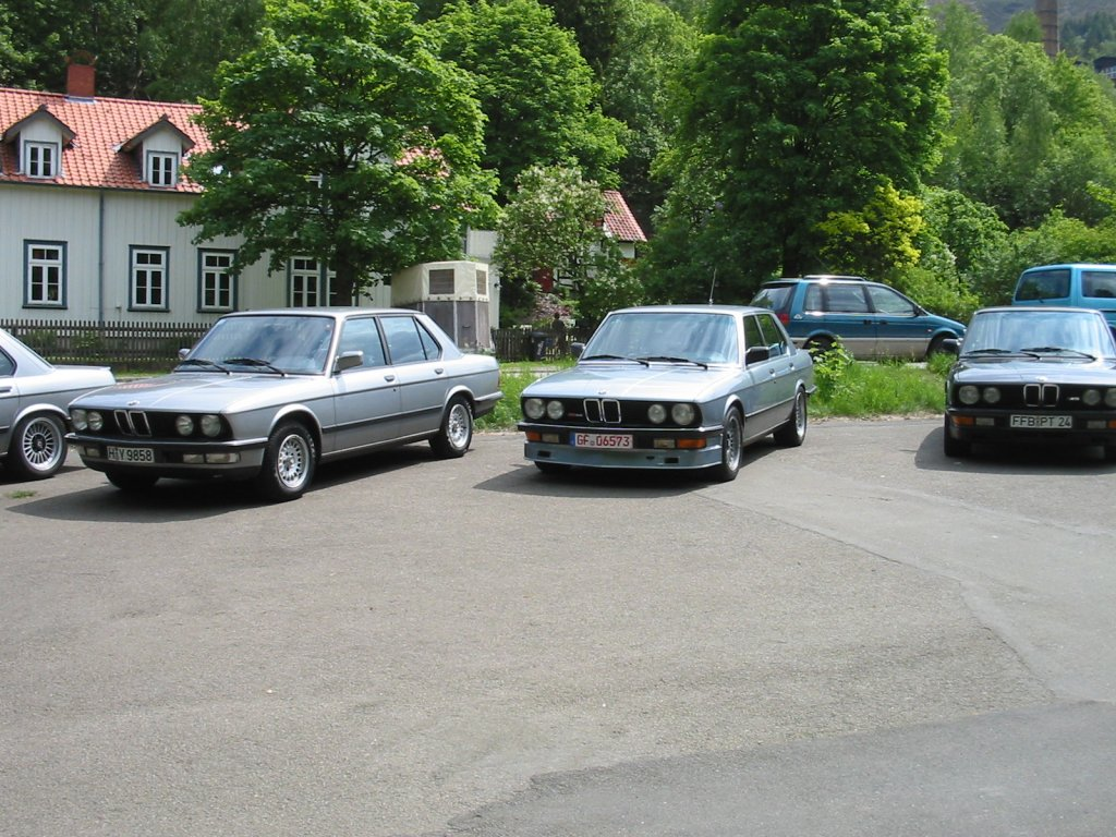 BMW 5-series E28 photo 36433