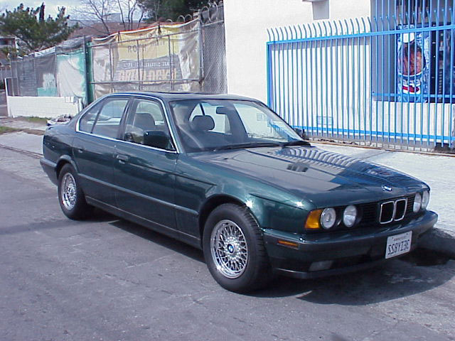 BMW 5-series E34 photo 36439