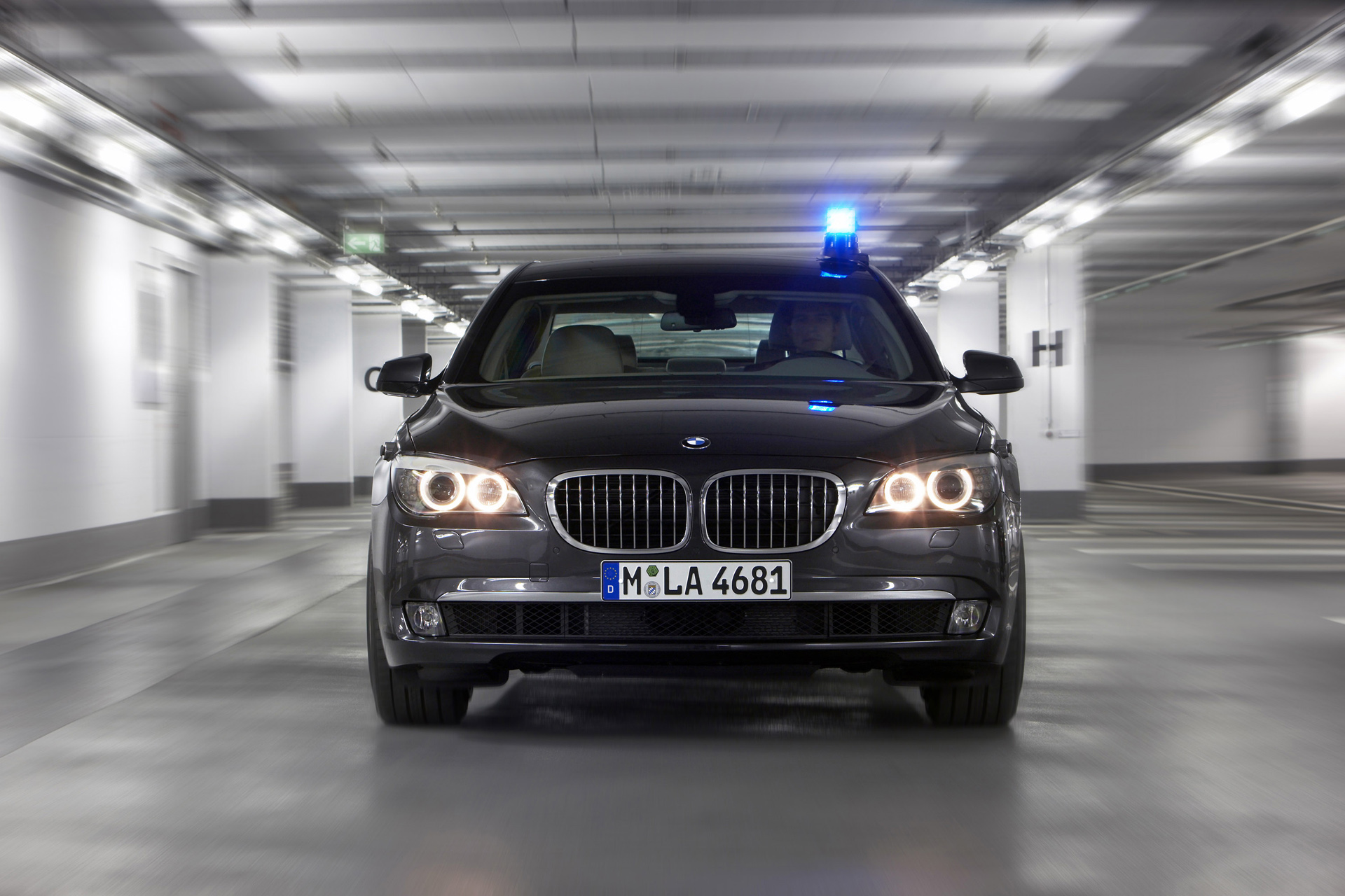 Bmw 7 Series High Security Photos Photogallery With 21 Pics