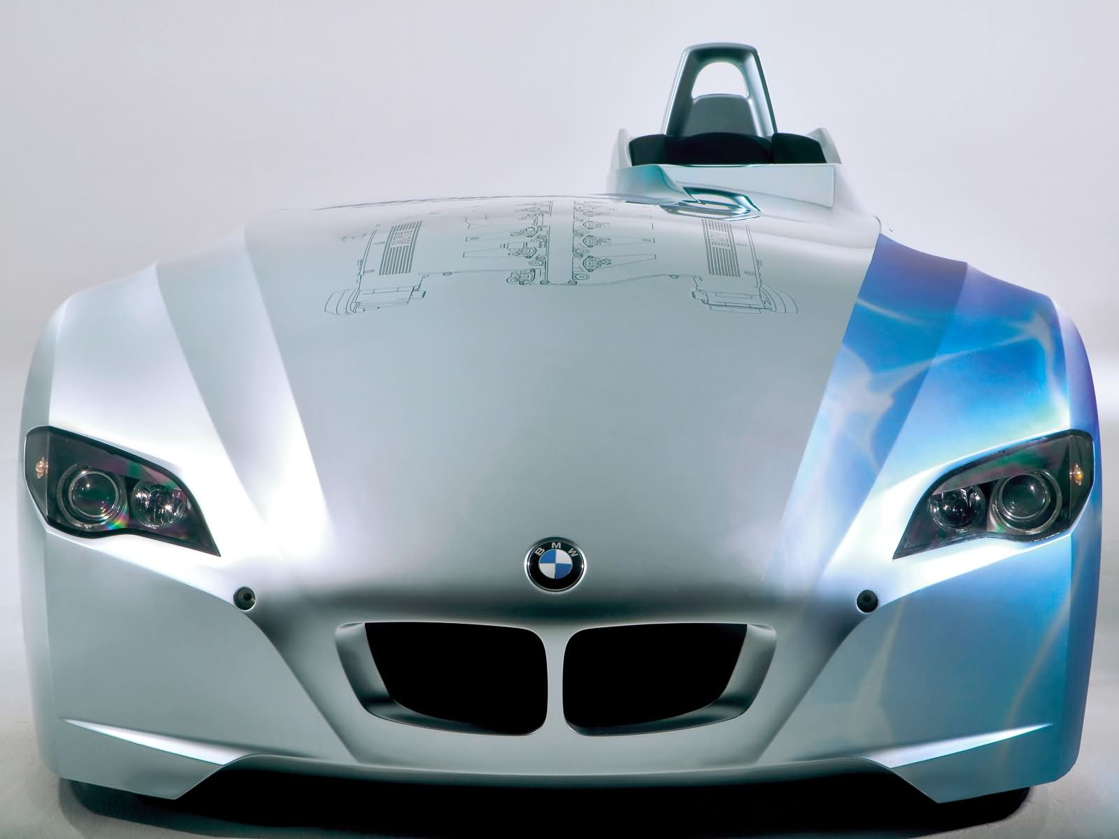 BMW H2R Hydrogen Racecar photo 13107