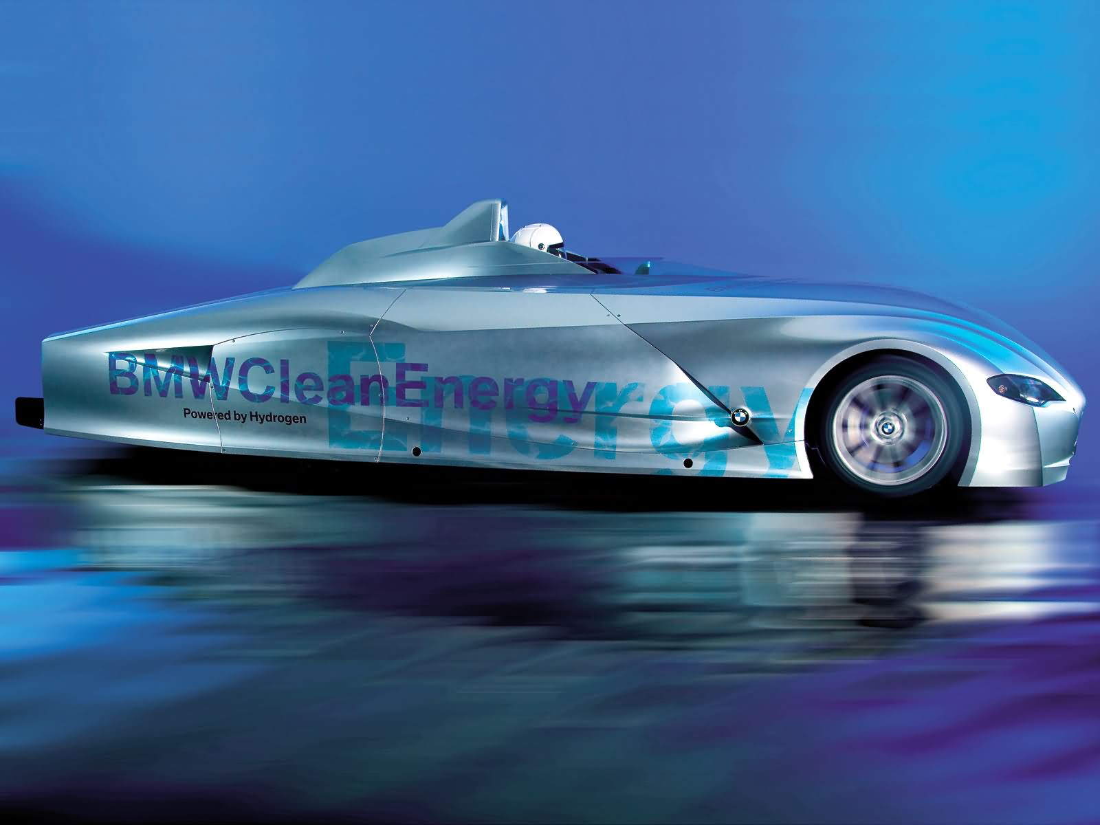 BMW H2R Hydrogen Racecar photo 13112