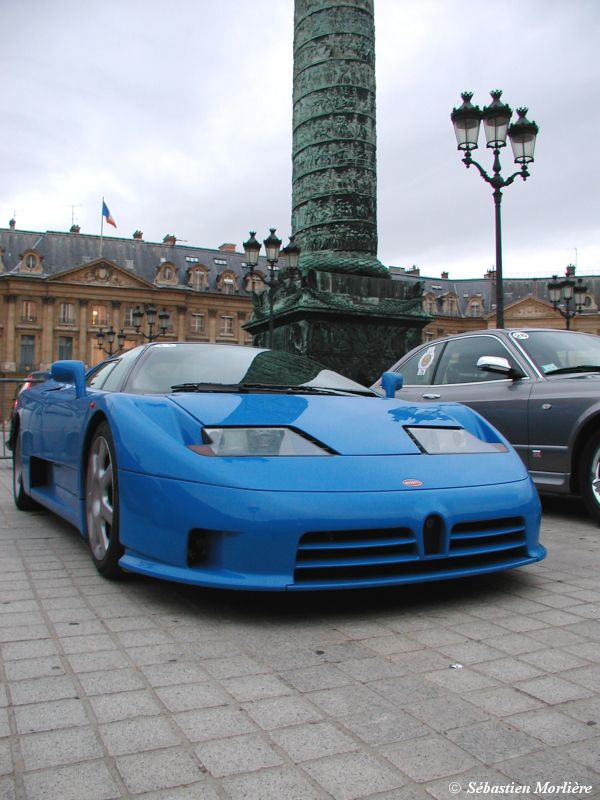 Bugatti EB 110 photo 12941