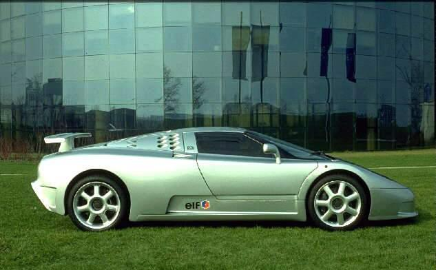 Bugatti EB 110 photo 12951