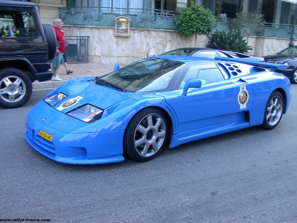 Bugatti EB 110 photo 12952