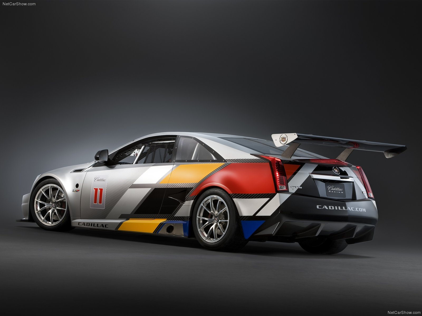 Cadillac CTS-V Coupe Race Car photo 77654