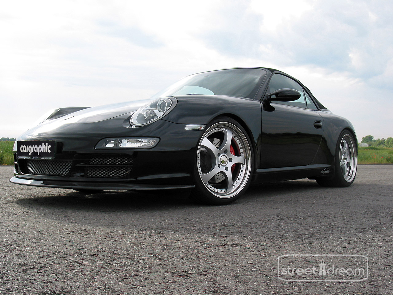 Cargraphic Porsche 997 Cabrio photo 26769