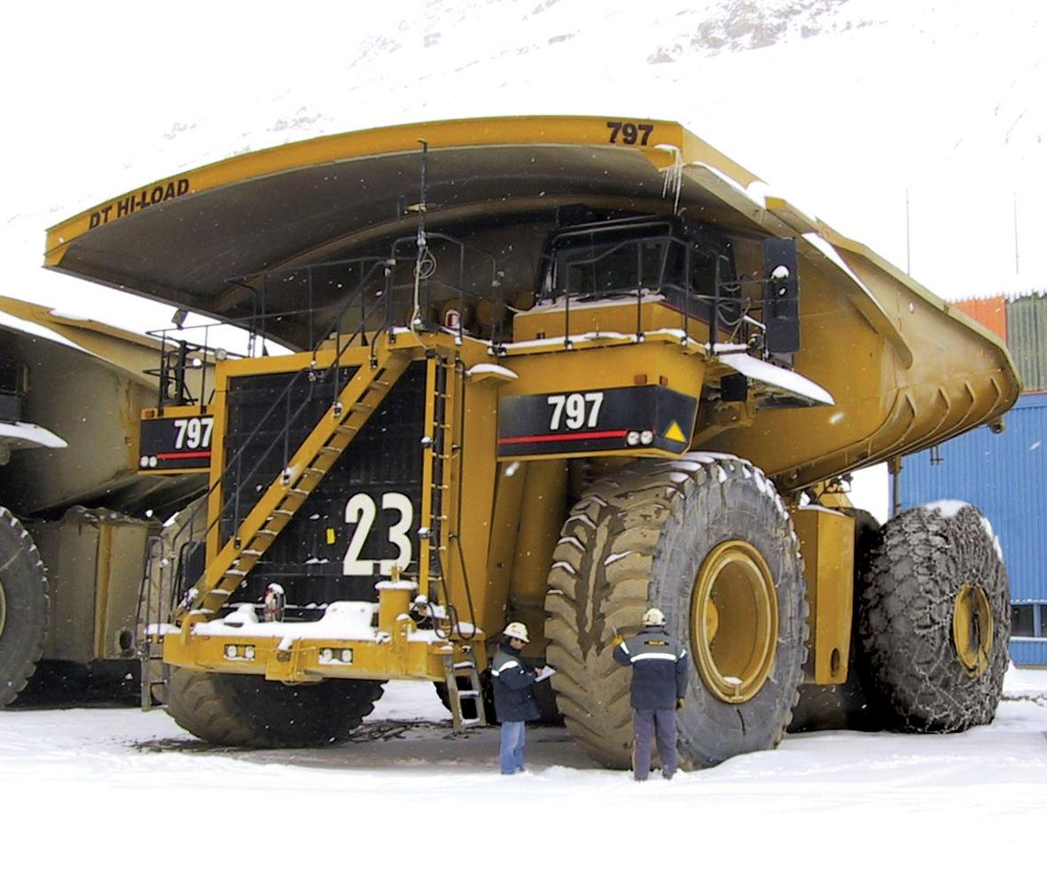 Caterpillar 797 photo 28573
