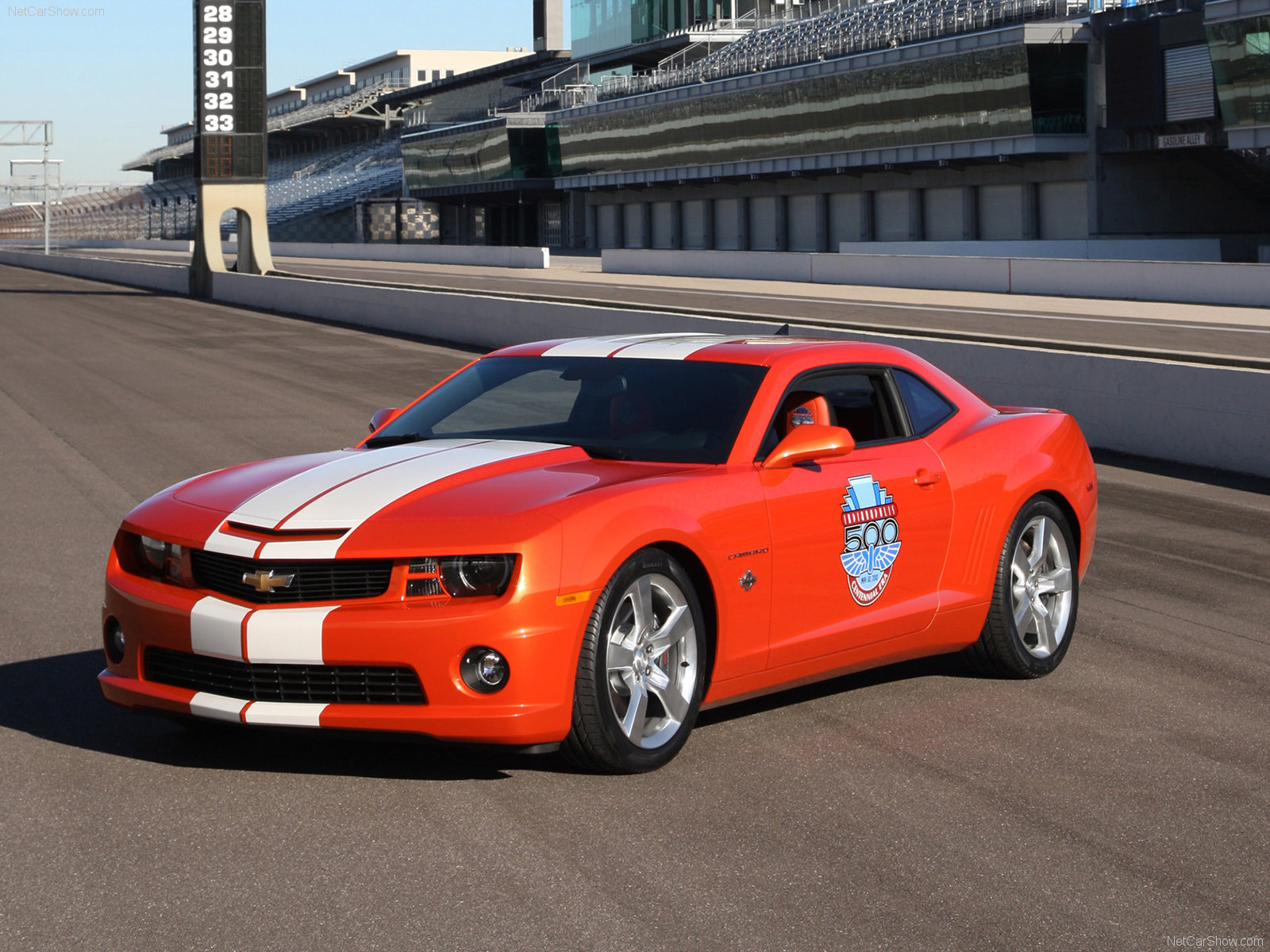 Chevrolet Camaro SS Indy 500 Pace Car photo 70025