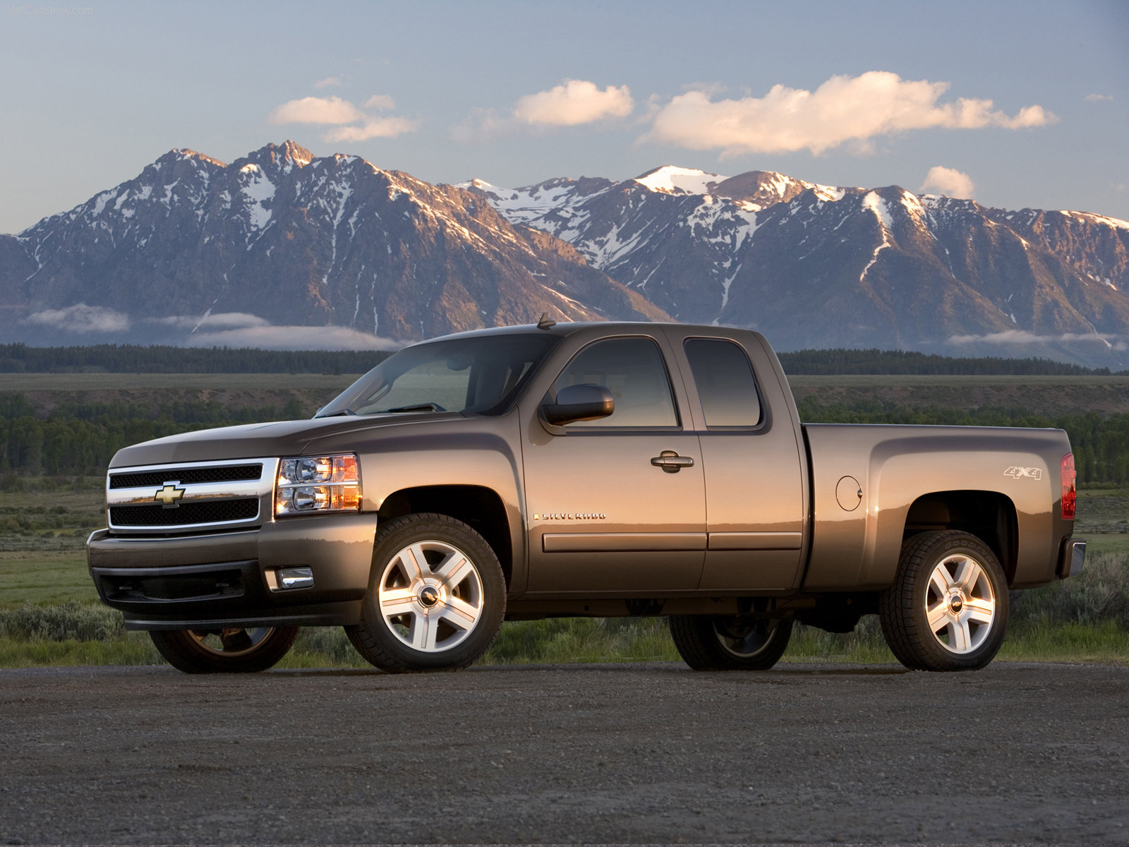 Chevrolet Silverado Extended Cab photo 37535