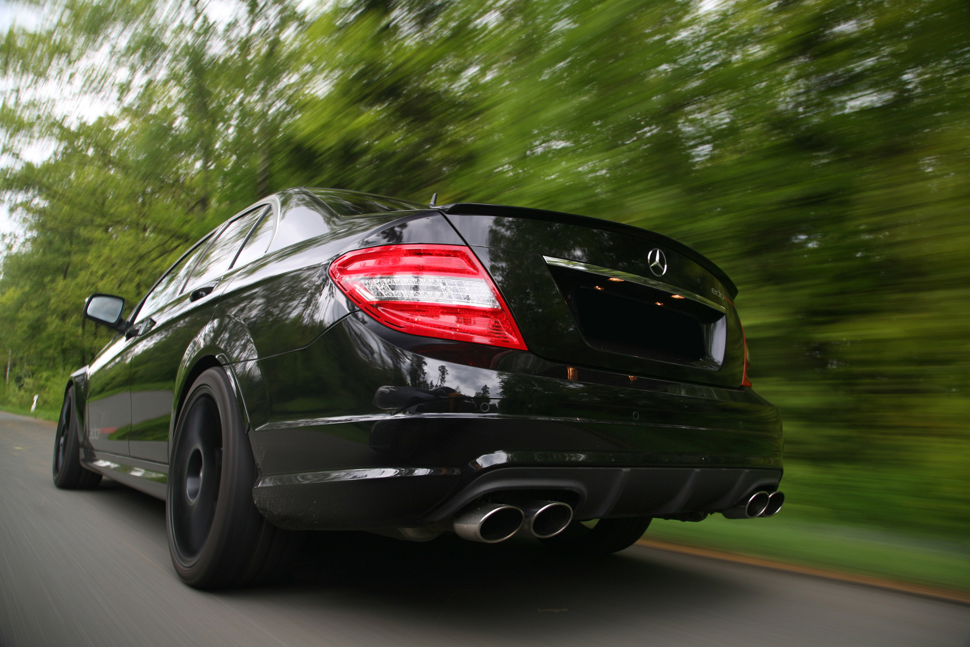 Edo Competition Mercedes C 63 photo 66798