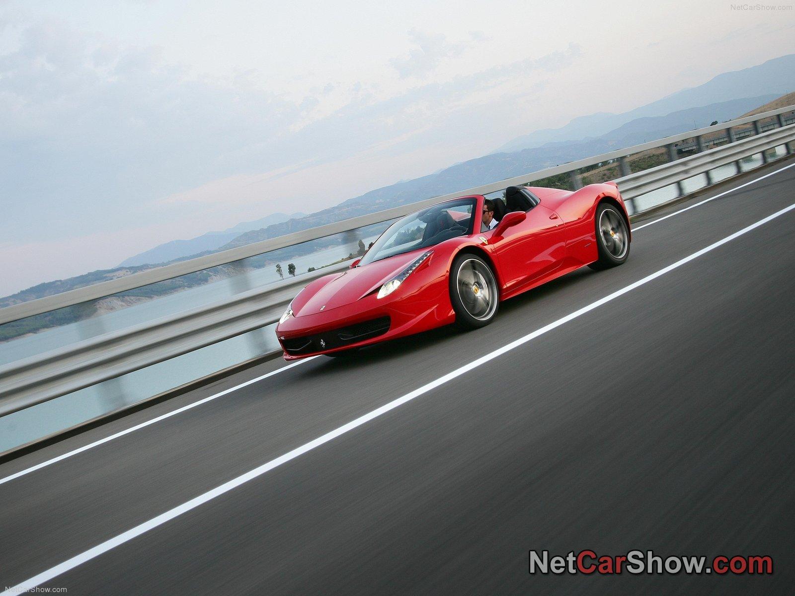 Ferrari 458 Spider Photo 85960