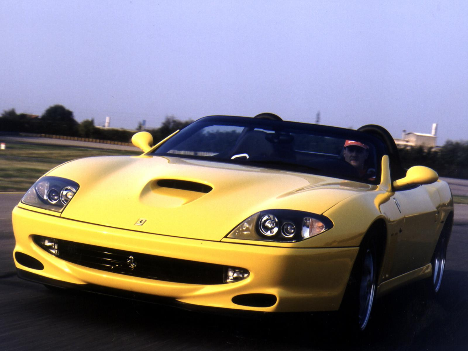 Ferrari 550 Barchetta photo 12015