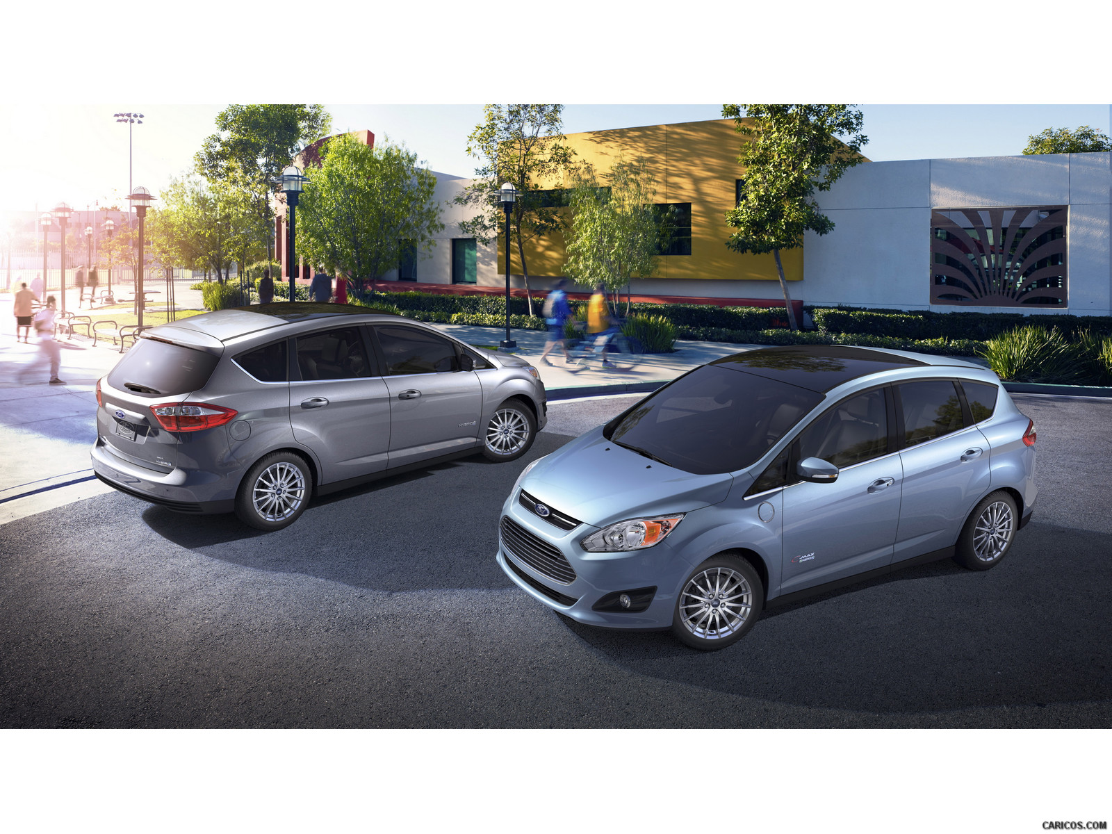 Ford C-MAX Energi and Hybrid photo 121638
