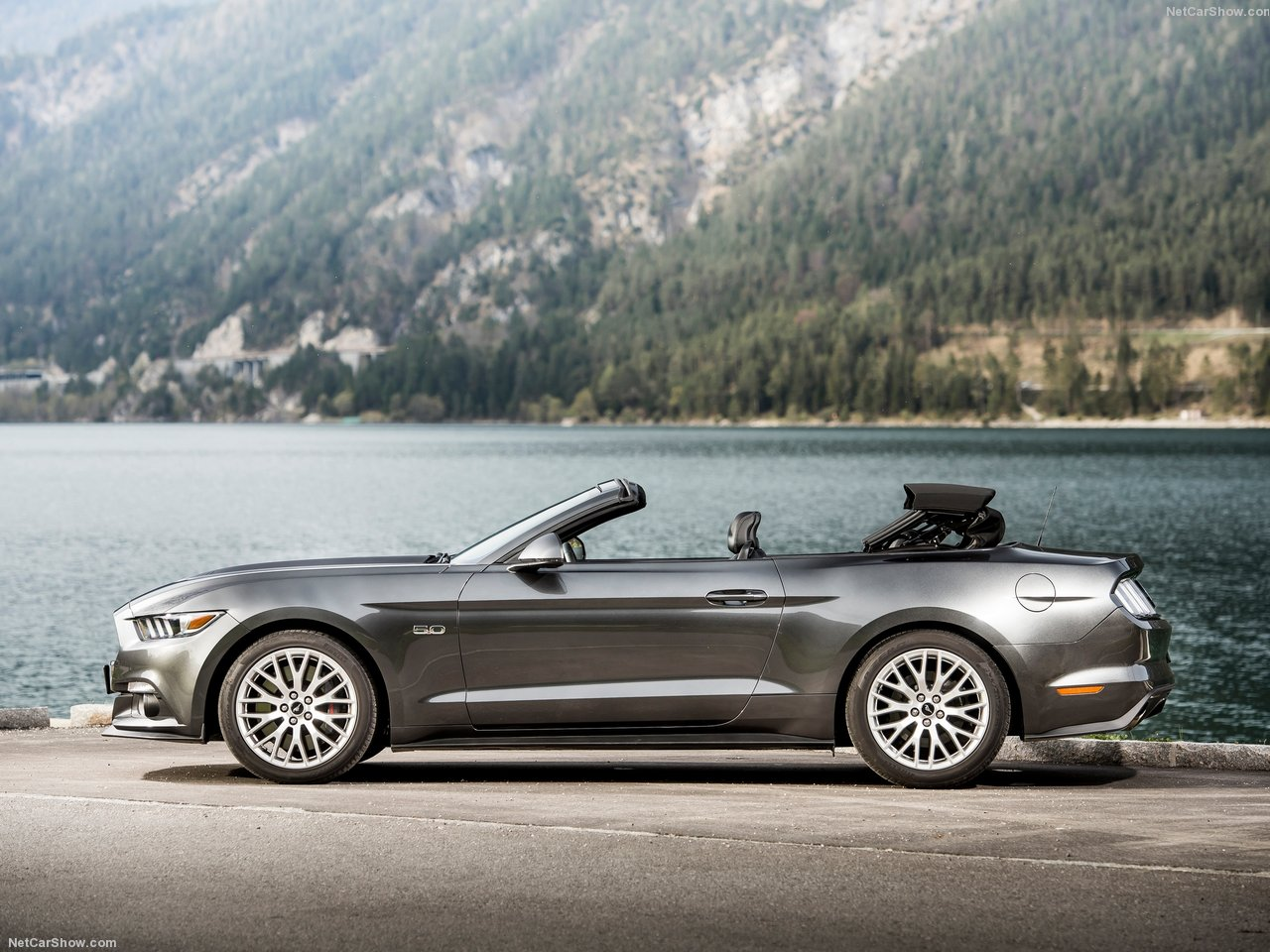 Ford Mustang Convertible EU-Version photo 142104