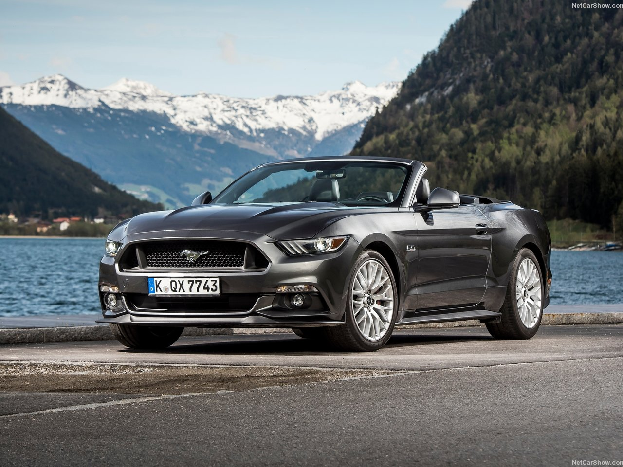 Ford Mustang Convertible EU-Version photo 142111
