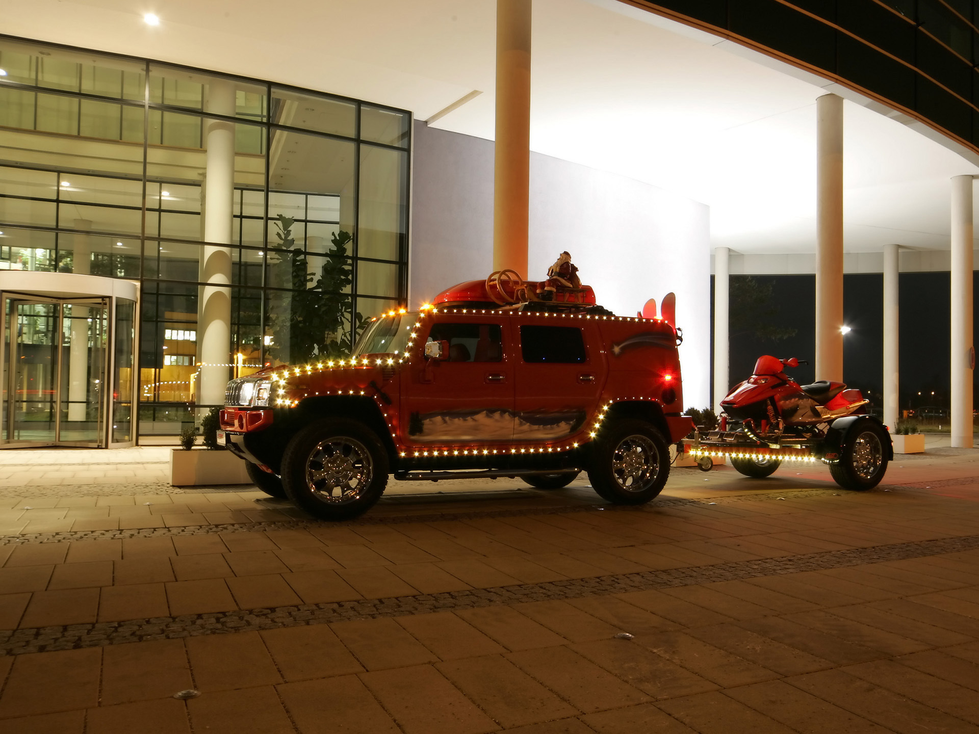 Geigercars Christmas Hummer H2 photo 55423