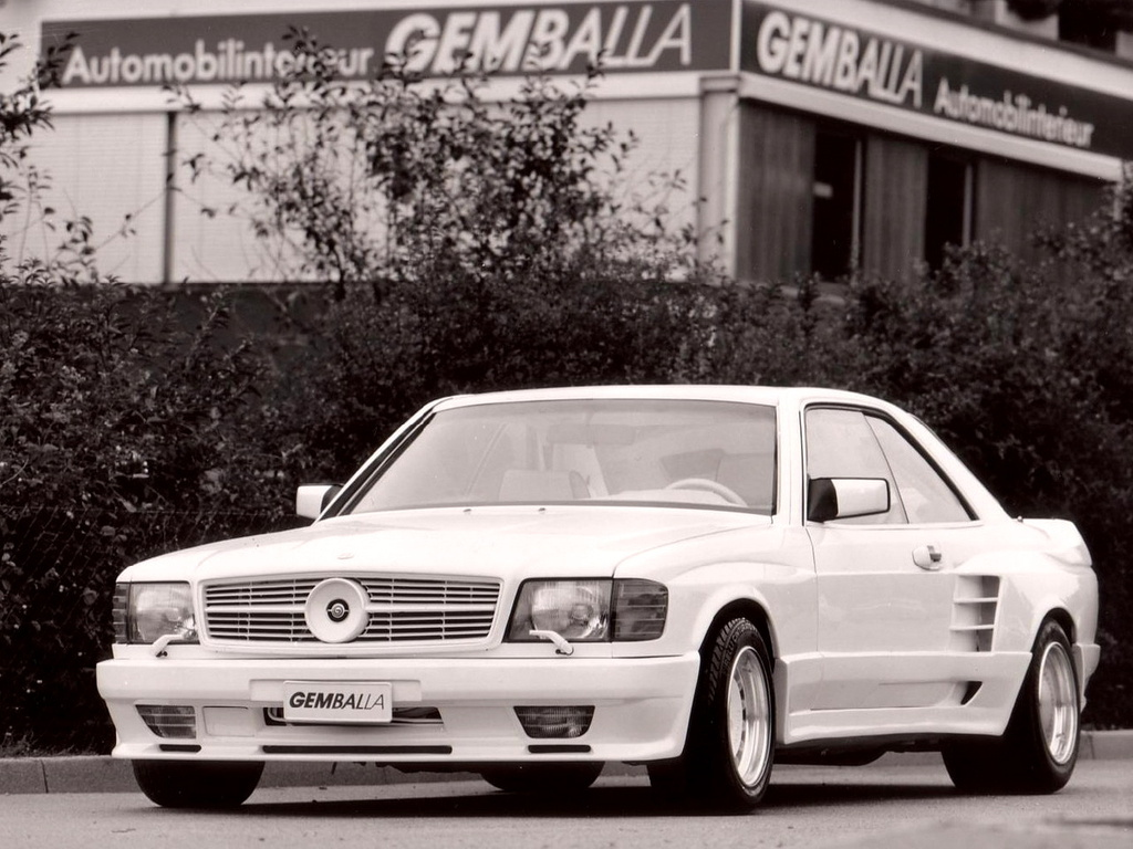 Gemballa Mercedes-Benz 500SEC Widebody (C126) photo 80982