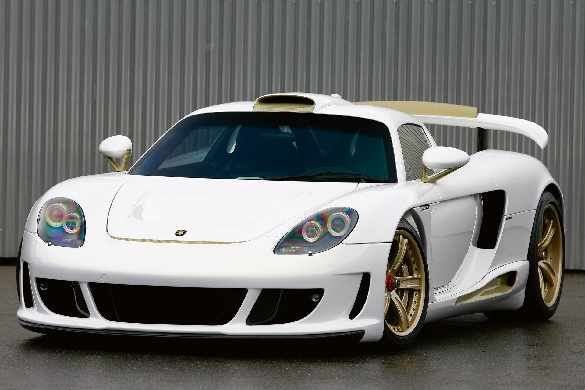 Gemballa Mirage GT Gold Edition photo 66488