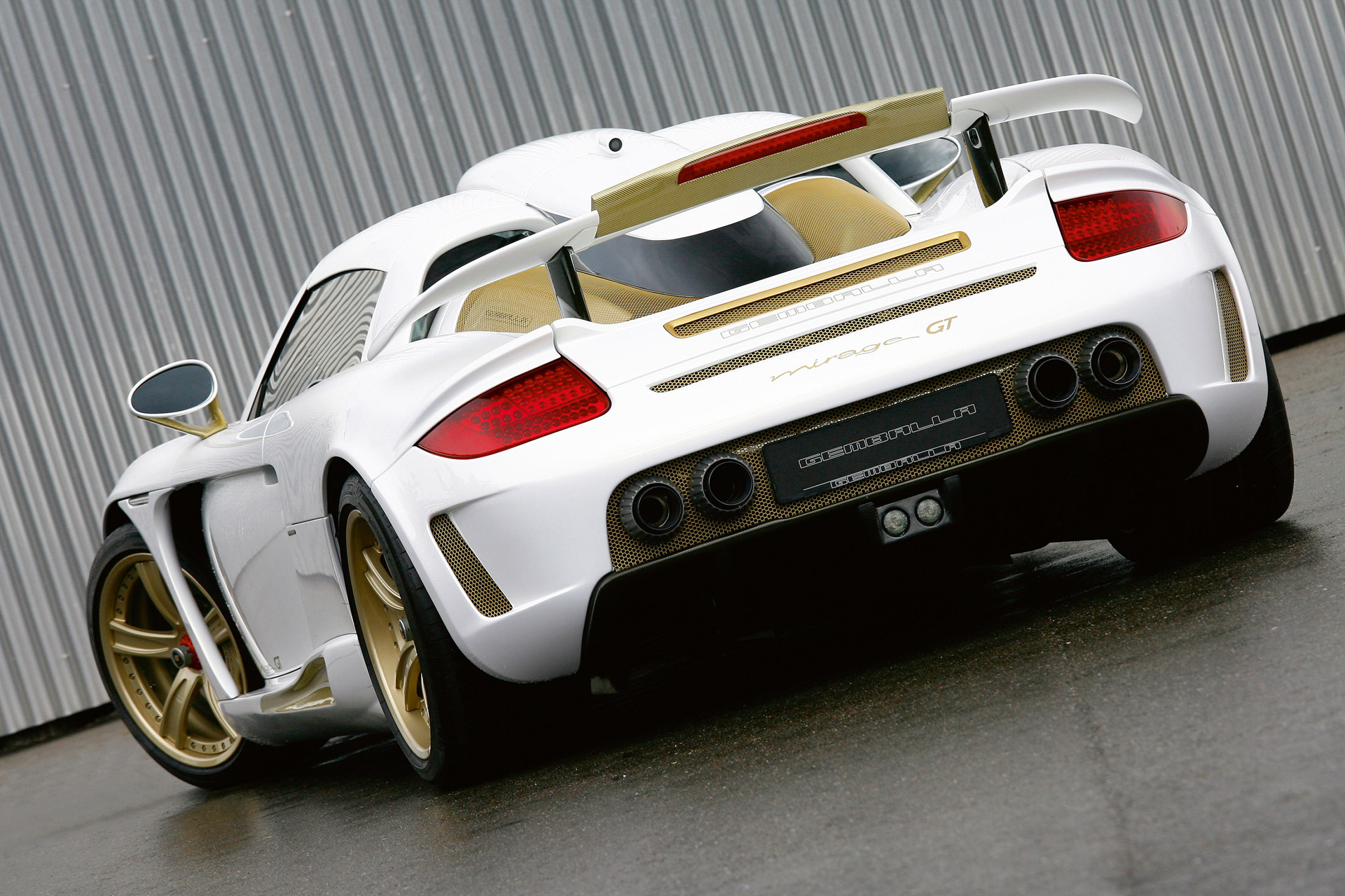 Gemballa Mirage GT Gold Edition photo 66491