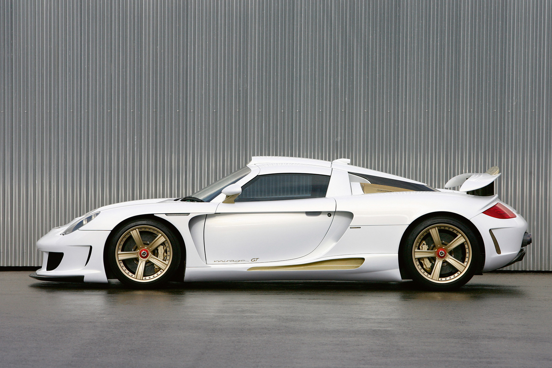 Gemballa Mirage GT Gold Edition photo 66492